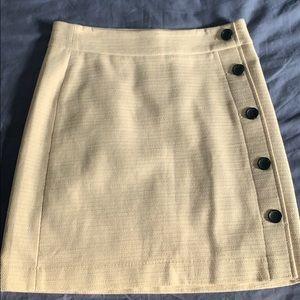 2 Tweed Skirts: Ann Taylor, Charter Club